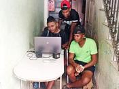 """Cubanos opinan sobre """"anuncio"""" poner internet casas Habana Vieja"""