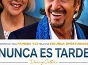 "Póster trailer español ""nunca tarde (danny collins)"""