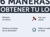 Obtener logo: formas hacerlo infografía
