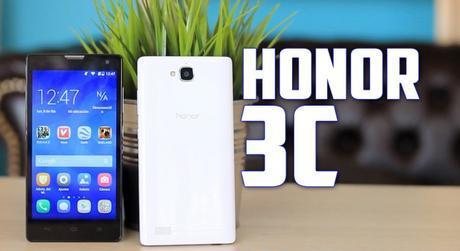 Huawei Honor 3C, revisión  en español