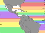 Mira países están este oeste otros continentes