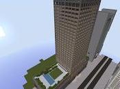Réplica Minecraft: Rascacielos Federal Street Boston, Estados Unidos.