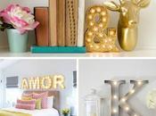 Deco✎Letras Decorativas Luminosas