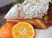 Plum cake mandarina
