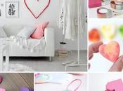 corazones handmade para Valentín