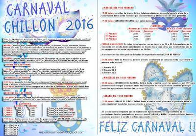 Programa Carnaval de Chillón 2016
