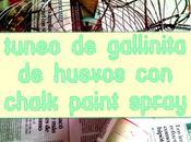 Tuneo gallinita huevos chalk paint spray