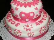 Tarta Valentín para Milagros Antonio
