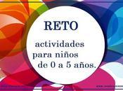 RETO: actividades para niños años.