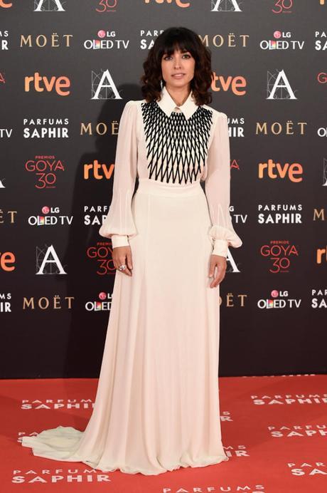 Alfombra roja Premios Goya 2016: Inma Cuesta