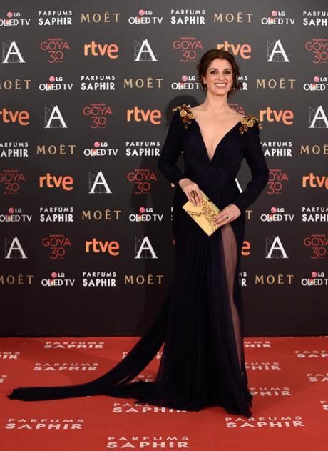 Alfombra roja Premios Goya 2016: Ruth Gabriel