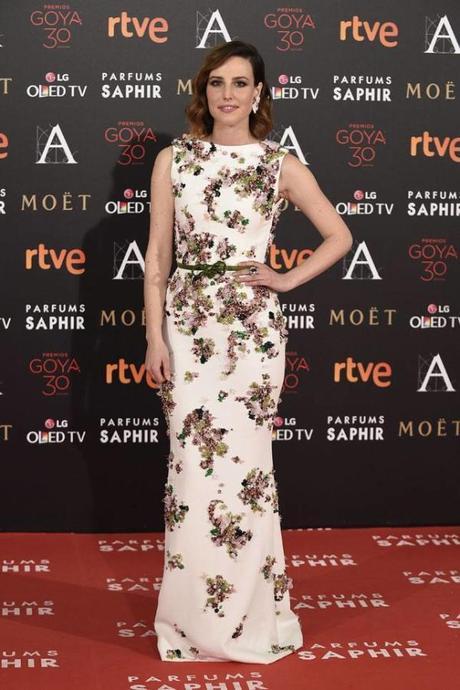 Natalia de Molina, entre las mejor vestidas de los Goya 2016