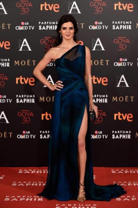 Clara Lago, entre las mejor vestidas de los Goya 2016