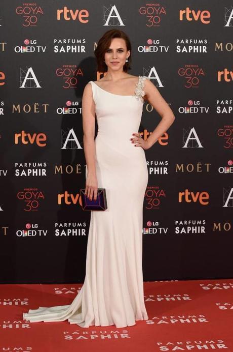 Aura Garrido, entre las mejor vestidas de los Goya 2016