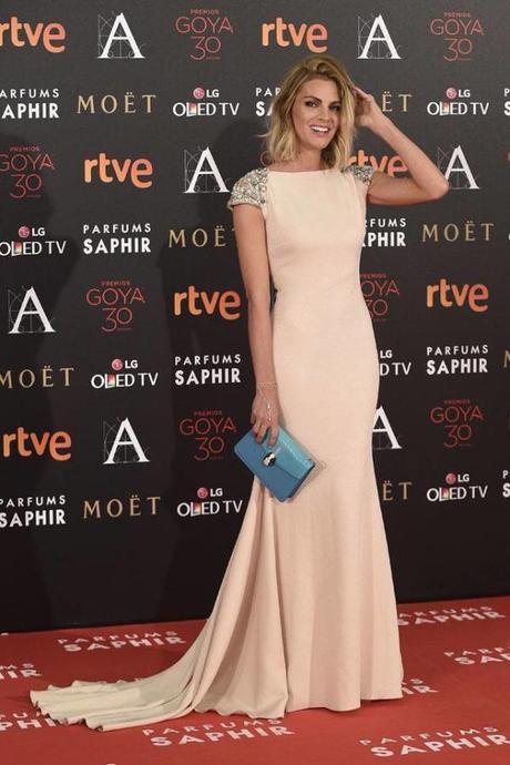 Amaia Salamanca, entre las mejor vestidas de los Goya 2016