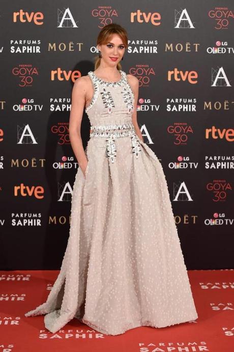 Marta Hazas, entre las mejor vestidas de los Goya 2016