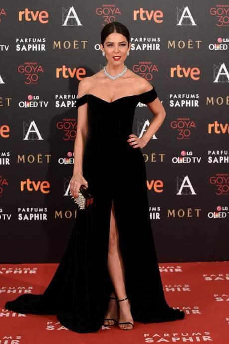 Juana Acosta, entre las mejor vestidas de los Goya 2016