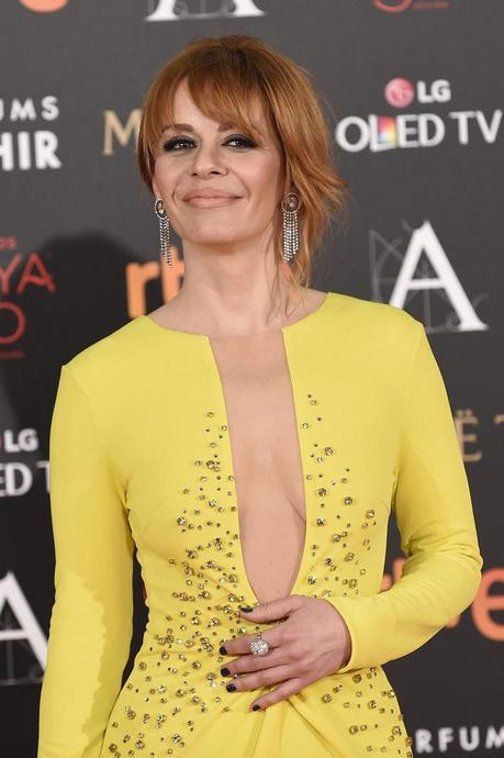 Actress Maria Adanez at photocall during the 30th annual Goya Film Awards in Madrid, on Saturday 6th February, 2016.