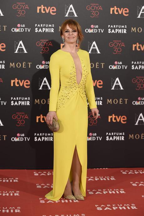 María Adánez Puesto 5 de las peor vestidas en los Goya 2016