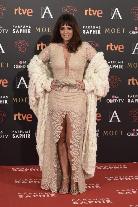 Yolanda Ramos Puesto 1 de las peor vestidas en los Goya 2016