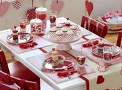 Mesas decoradas para Valentin