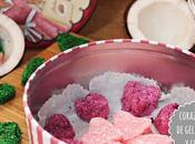 Corazones gelatina coco