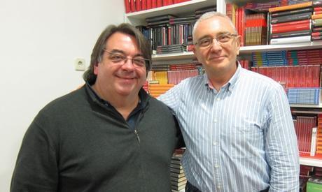 Con Jesús Ruiz Mantilla