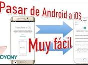 Truco transferir datos desde Android iPhone