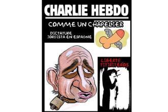 La falsa portada de 'Charlie Hebdo' que engañó a medios españoles