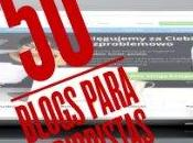 Huella Digital, lista #50blogsparaperiodistas