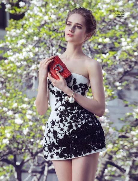 La bailarina del Bolshoi Maria Semenyachenko y su faceta de modelo