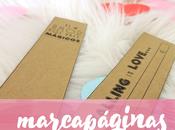 Marcapáginas imprimibles para regalar Valentín