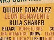 Sonorama Ribera 2016: Kula Shaker, Quique González, León Benavente, Sidecars, Belako...