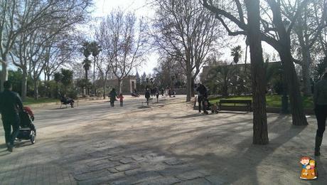 Templo-de-Debod-Madrid-con-ninos