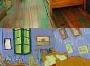 Instituto Arte Chicago recrea dormitorio famoso Gogh para alquilado Airbnb