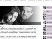 Alonso Javier Pelegrín estrenan webs literarias Actualidad Noticias mundillo