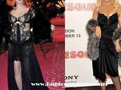 "Estilismos para olvidar: Cher Christina Aguilera estreno Londres ""Burlesque"". Burlesque Premiere"