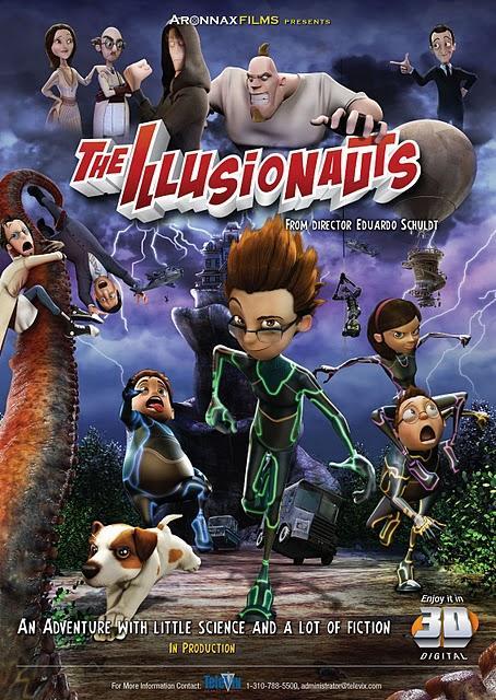 Los Ilusionautas , nueva película animada hecha en Perú