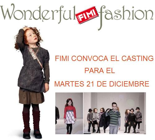 Casting de niños para FIMI 2011 (FIMI FASHION SHOW)