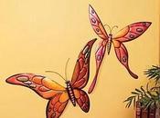 Decoración paredes mariposas