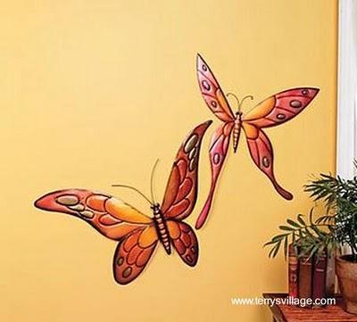 Decoraci n de paredes con mariposas paperblog - Mariposas decoracion pared ...