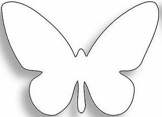Cuadros de mariposas paperblog - Plantillas de mariposas ...