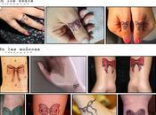 Tatuajes forma lazo