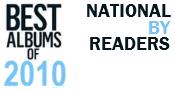 Mejores Discos Nacionales 2010 para Lectores Indiecaciones