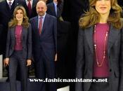 Príncipes Asturias siguen prosiguen programa audiencias Zarzuela. look Dña. Letizia