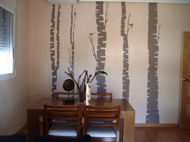 El vinilo en pared de gotel de zin paperblog for Vinilos pared gotele