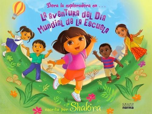 Shakira colabora con Dora la Exploradora en un cuento infantil