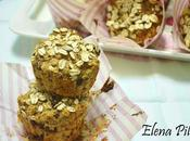 Muffins avena pedacitos chocolate contra vorágine sanvalentinesca