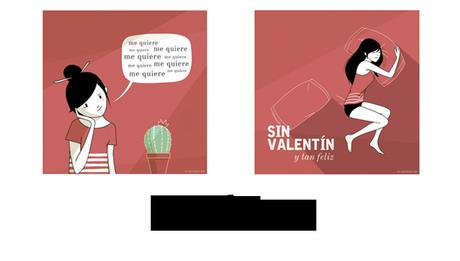 Láminas (y consejitos) no-ñoños para San Valentín