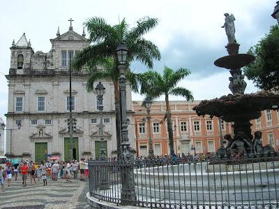 Catedral Basílica de San Salvador de Bahía, Brasil, La vuelta al mundo de Asun y Ricardo, round the world, mundoporlibre.com